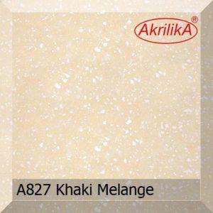 A827 Khaki Melange