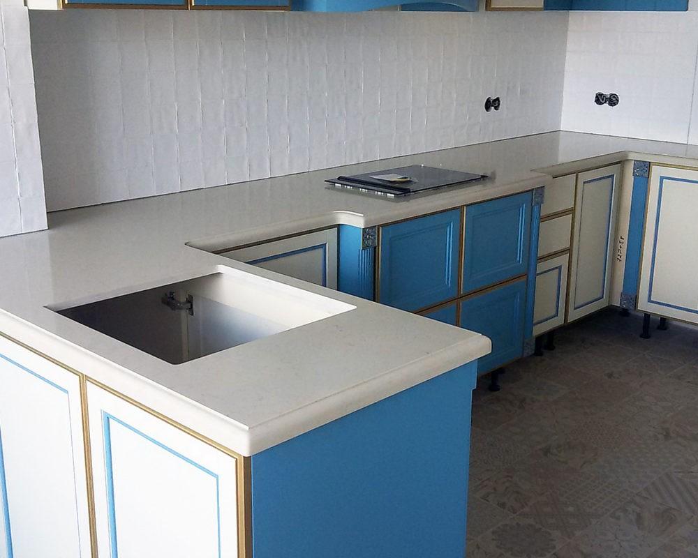 Заказать Столешницы и мойки на кухню в Москве - Фото 27