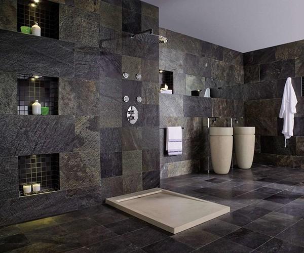 Мойка и стена для ванной комнаты.