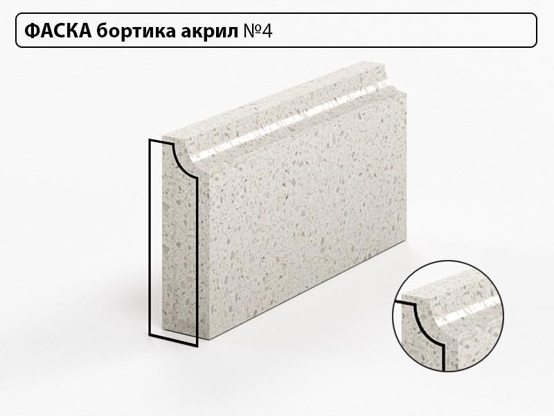 Заказать Фаска бортика акрил №4 в Москве