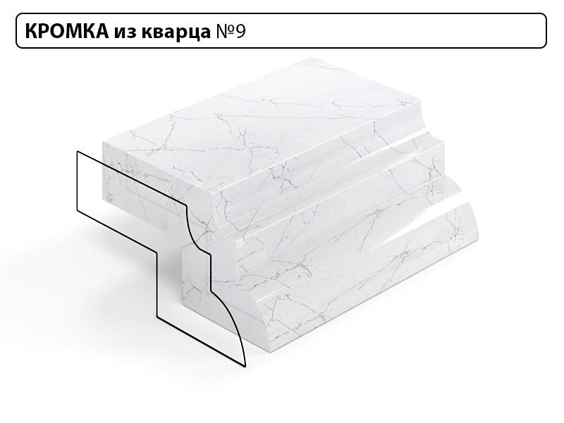 Заказать Кромка из кварца №9 в Москве