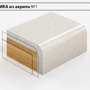 Заказать Кромка из акрила №1 в Москве