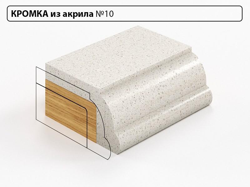 Заказать Кромка из акрила №10 в Москве