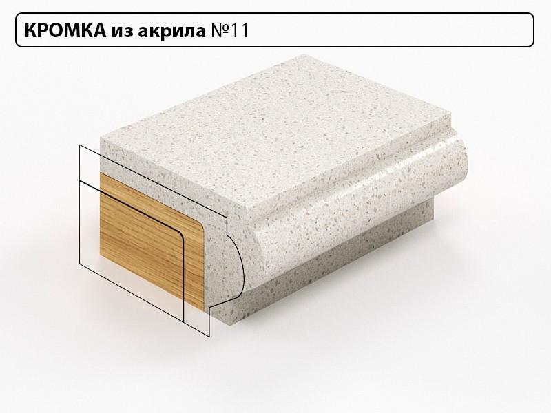 Заказать Кромка из акрила №11 в Москве