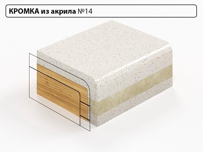 Заказать Кромка из акрила №14 в Москве