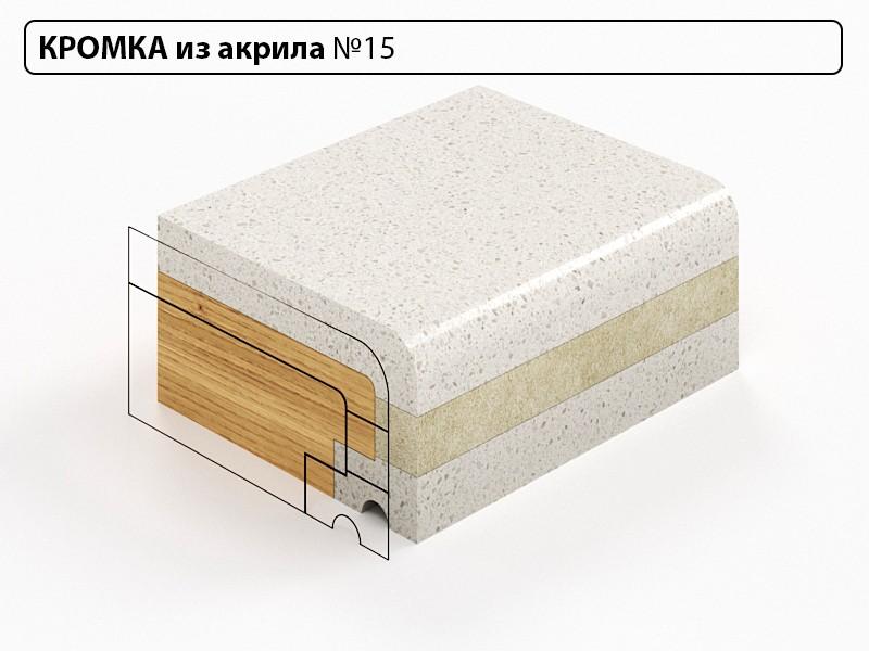 Заказать Кромка из акрила №15 в Москве