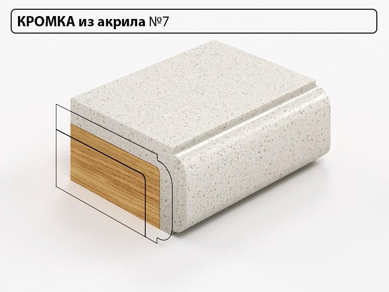 Заказать Кромка из акрила №7 в Москве