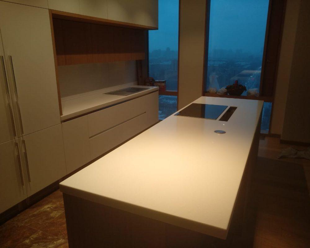 Заказать Столешница для кухни с островом Grandex A404 в Москве - Фото 1