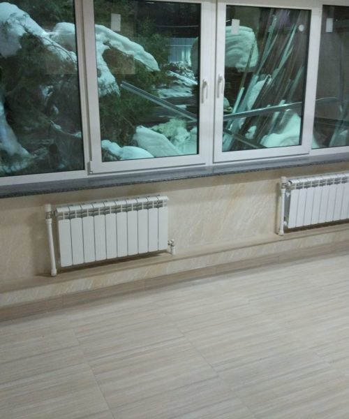 Декорация короба под электрику и сантехнику